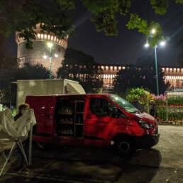 Milano Flor Autunno 2020 Arrivo in Piazza Castello